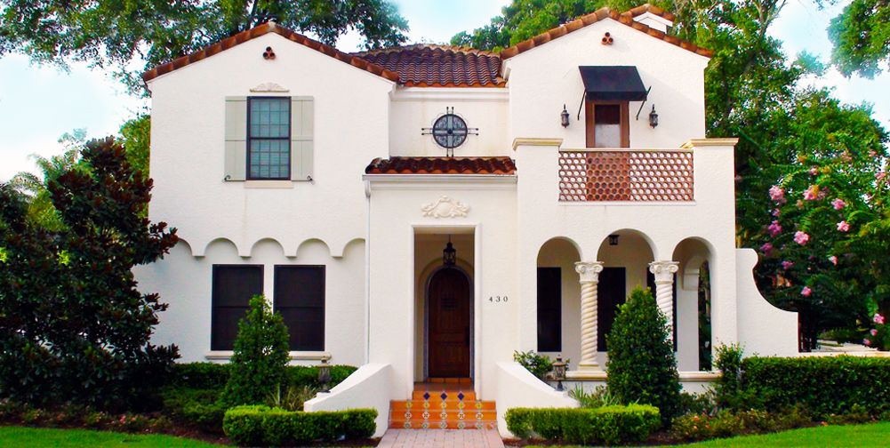 Spanish mediterranean style home plans spanish Spanish revival home plans