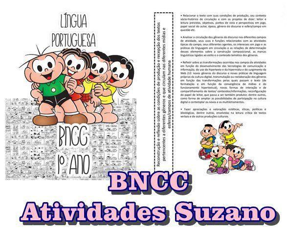 Bncc Lingua Portuguesa 1ºano Em 2020 Atividades Alfabetizacao E