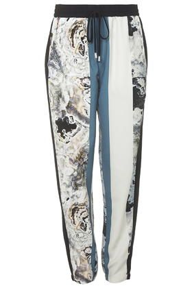 Marble Print Joggers | Topshop