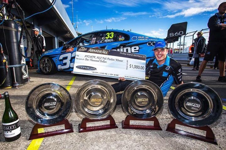 An awesome weekend for Volvo Polestar Racing and Scott