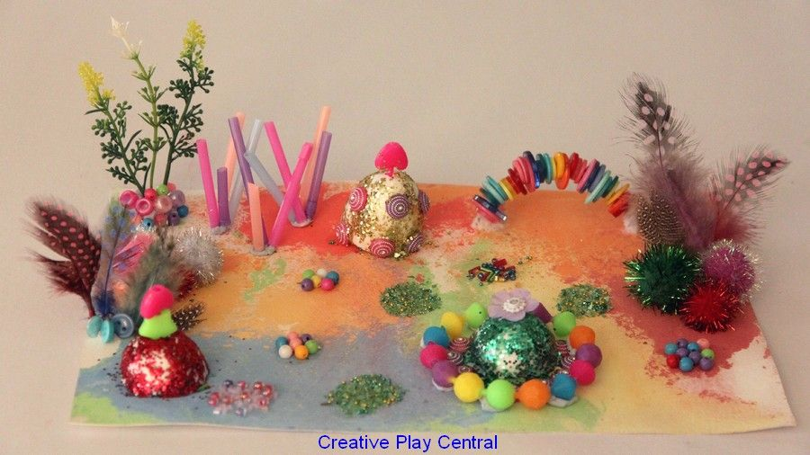 children s art inspires 3d collage creative play central blog