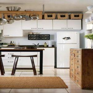 Creative Storage Above Kitchen Cabinets | http://jaredgrier.com ...