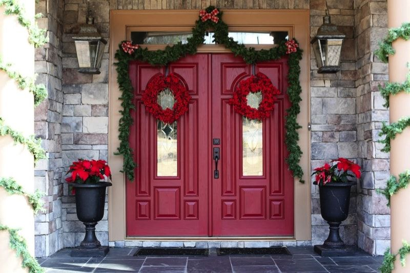 Red Doors On Houses Traditional Front Doors Red Front Door Exterior Front Doors