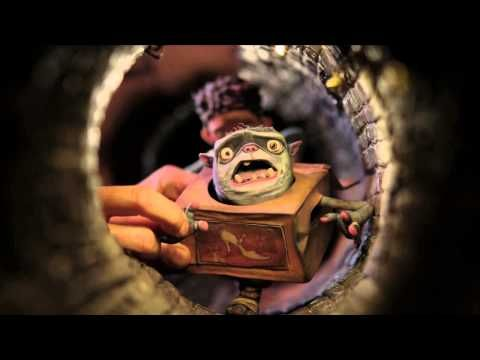 Claymation Stop Action And Cgi All Together Make The Boxtrolls Official Teaser Trailer 2 Hd Stop Motion Animation Studio Animation Stop Motion