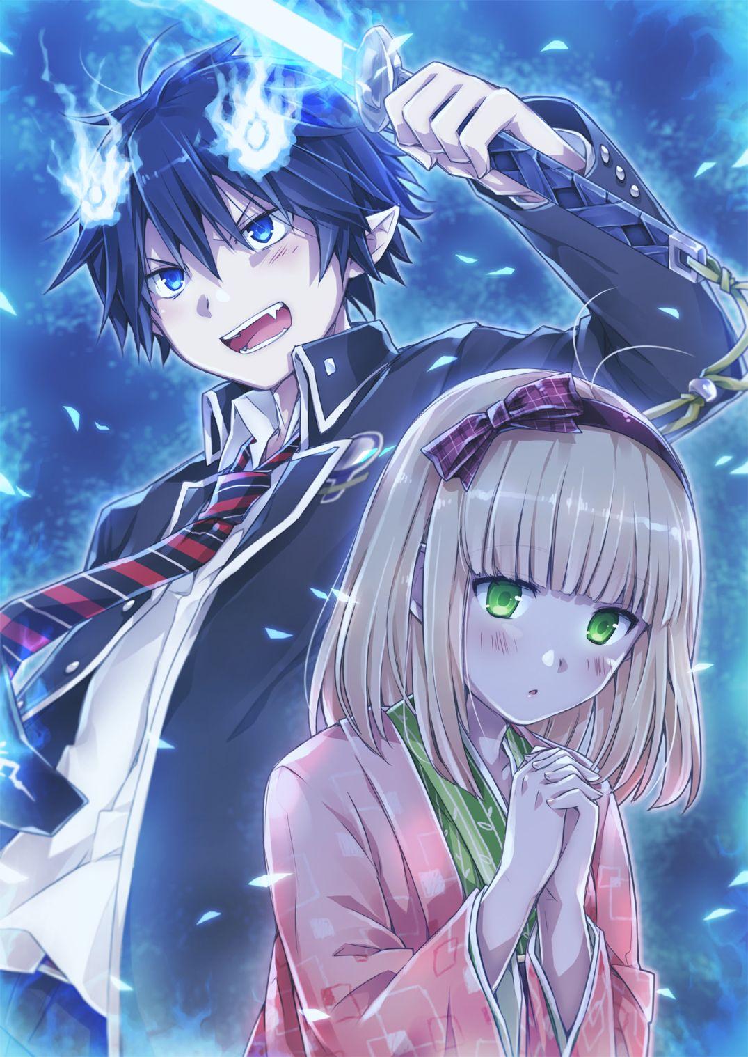 Blue Exorcist Blue exorcist anime, Blue exorcist rin