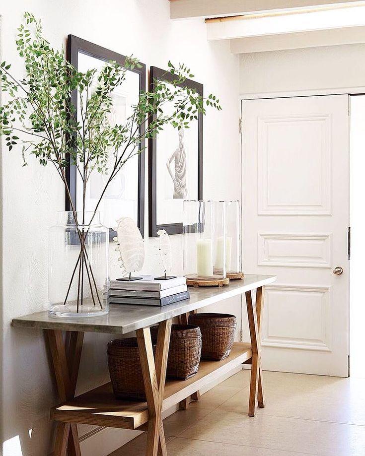 Foyer Table Ideas