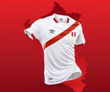 Peru 2016 Copa América Centenario Umbro Home Jersey Copa ame