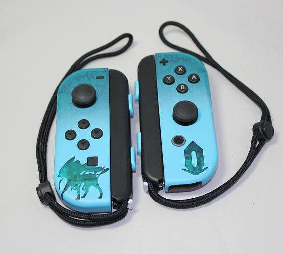 405fe316b49881 Nintendo Switch ~ Pokemon Crystal Legacy ~ Custom Joy-Con ~ Limited Edition  ~ Translucent Joy-Con ~