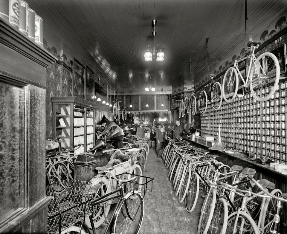 1920 S Bikestore Bicycle Shop Bike Shop Motorcycle Shop