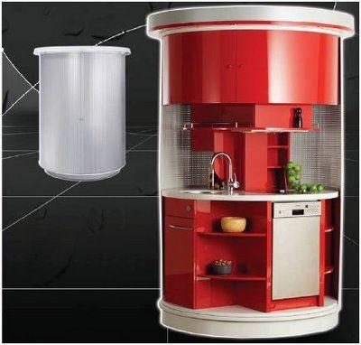 Muebles de cocinas para espacios peque - Muebles para espacios reducidos ...