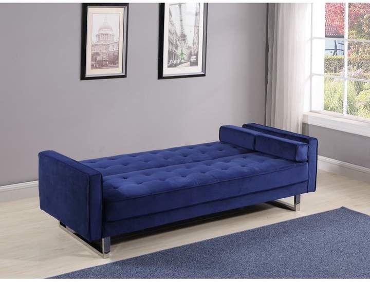 Everly Quinn Jett Convertible Sofa   Comfortable sofa, Ikea ...