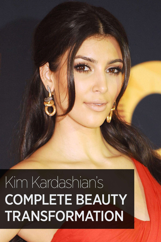 Kim Kardashian's Complete Beauty Evolution  - HarpersBAZAAR.com