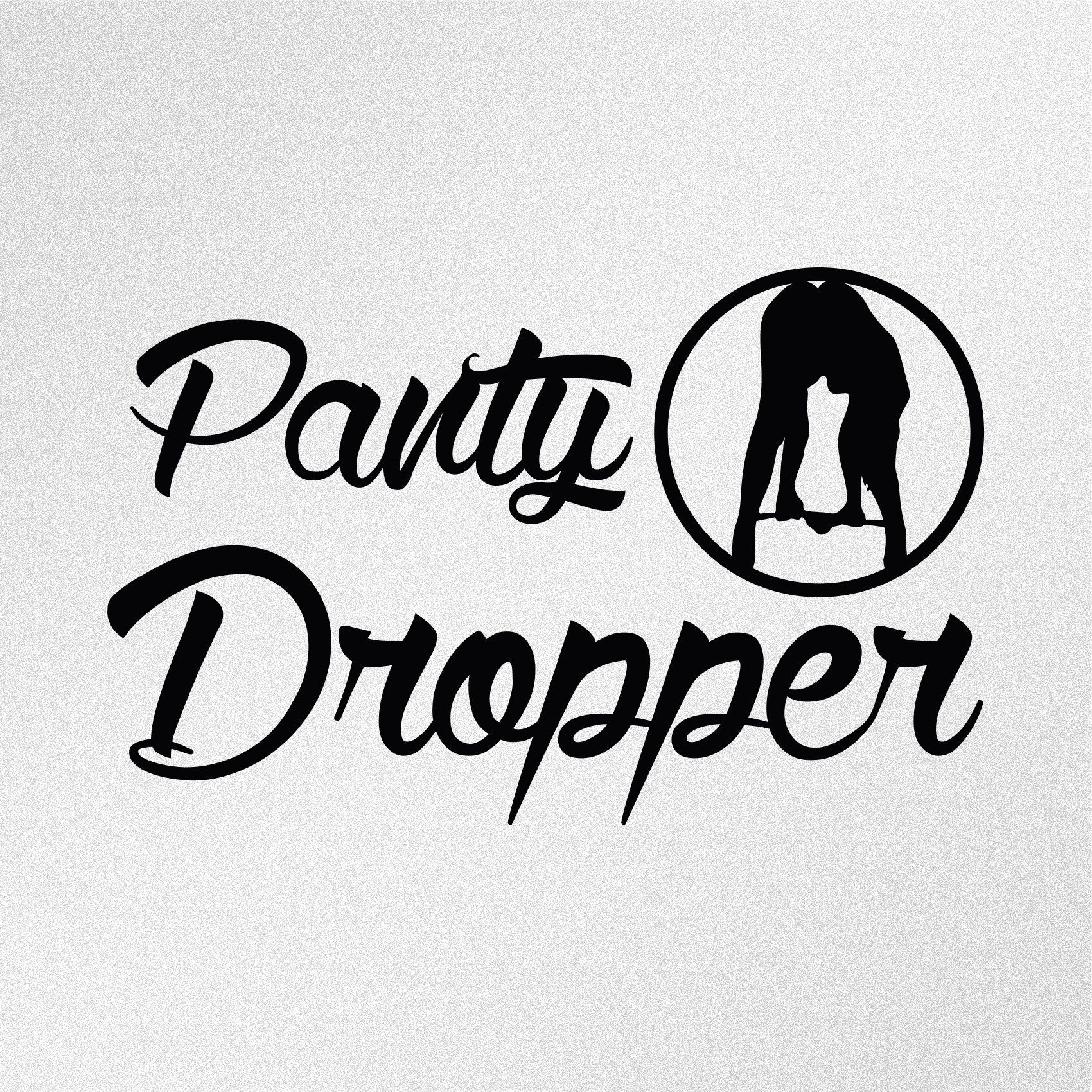 Panty Dropper Vinyl Decal Sticker In 2021 Funny Vinyl Decals Vinyl Window Decals Funny Bumper Stickers [ 1700 x 1700 Pixel ]