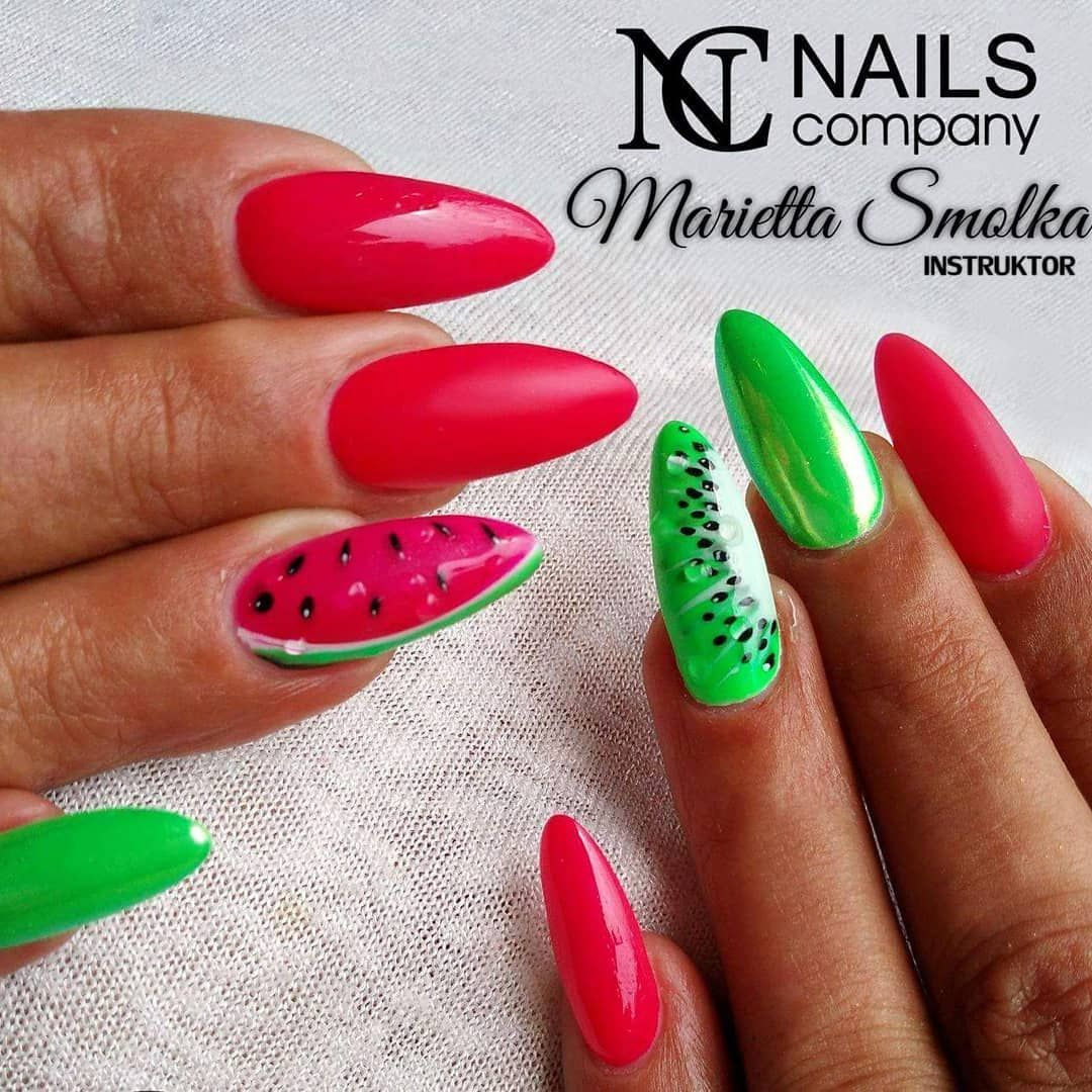 Pin By June Bug On Paznokcie In 2020 Mint Nails Mint Nail Designs Manicure