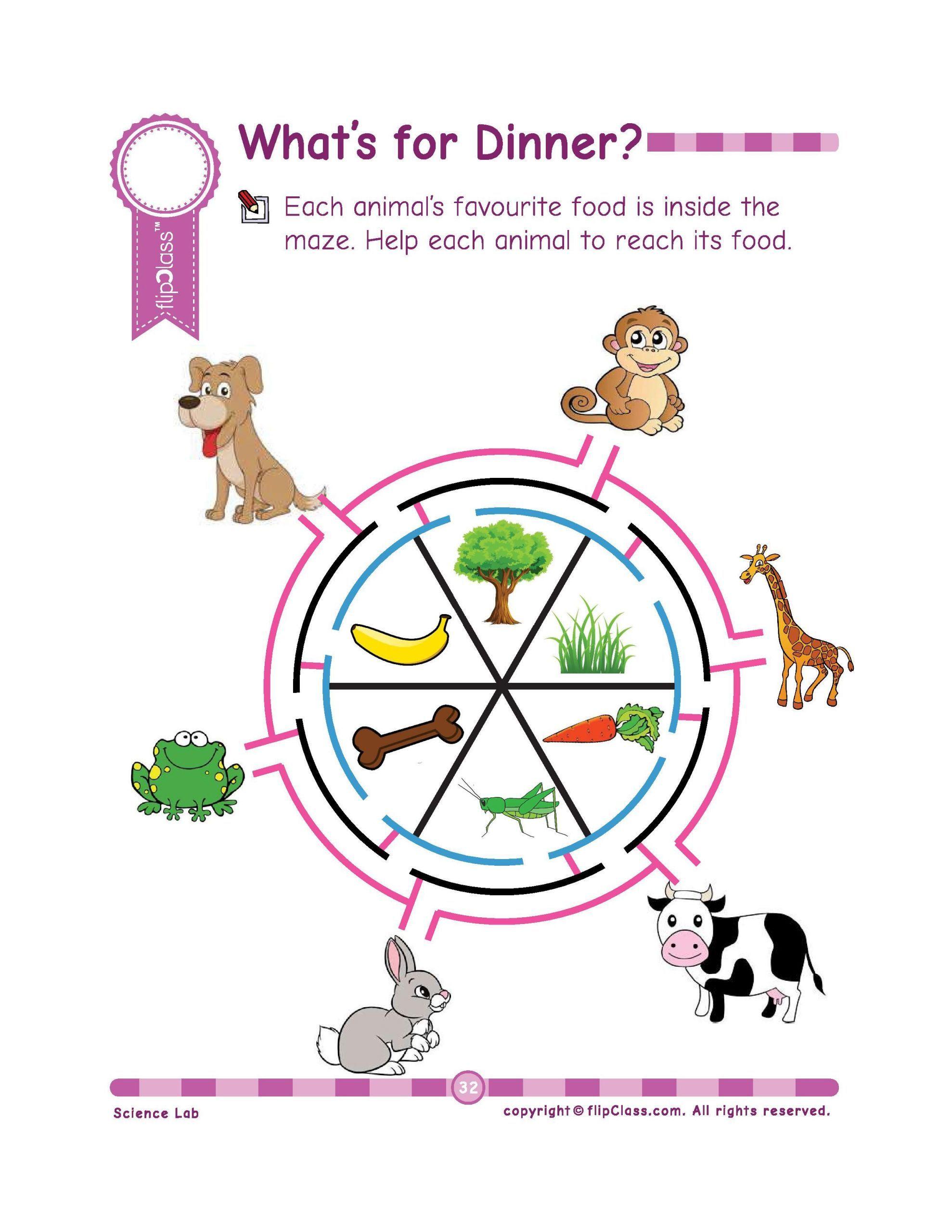 7 Farm Animals Preschool Montessori Genius Kids Worksheets