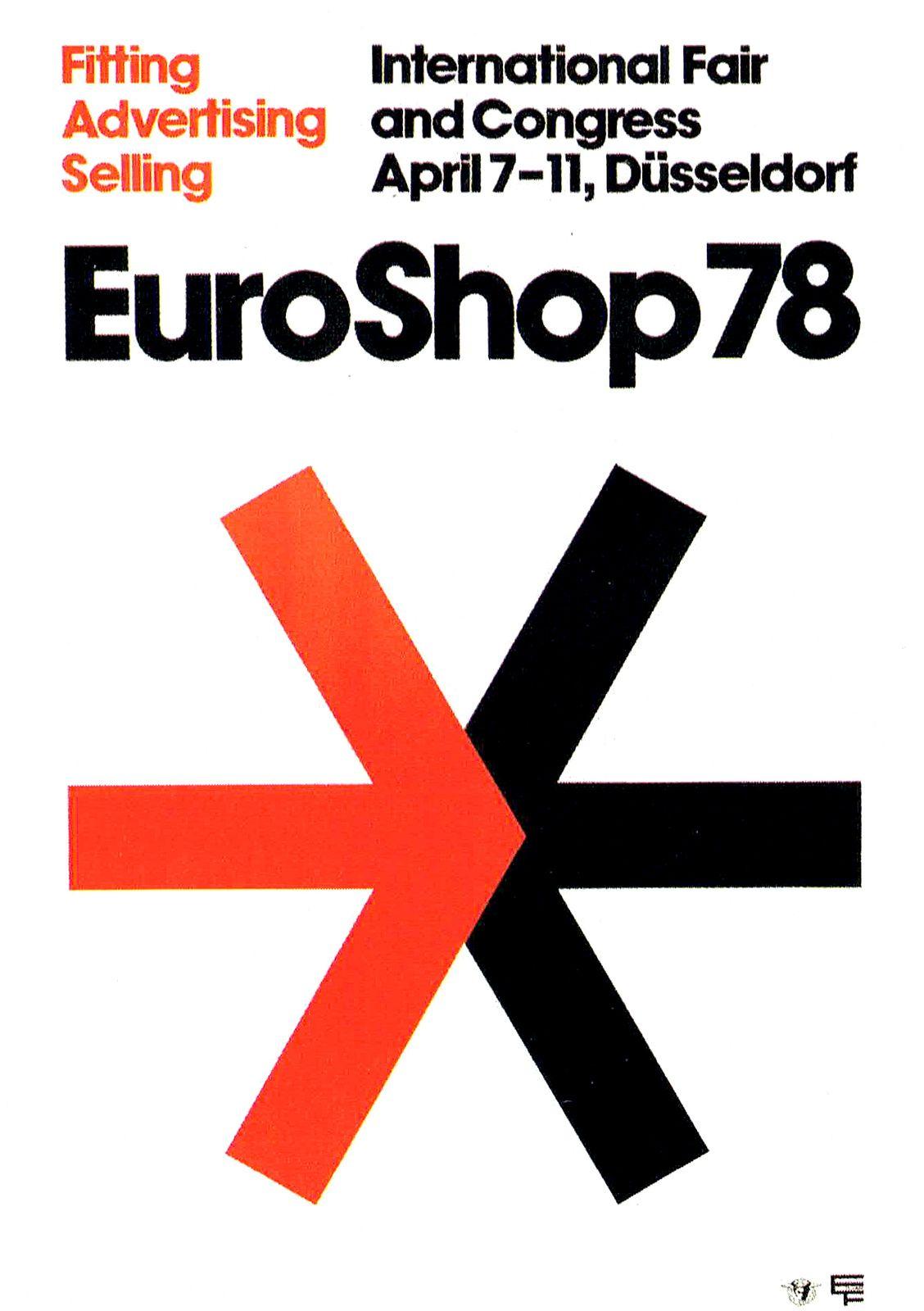 Loesch (Uwe, DE) 1978 EuroShop (Nowea AG) Plakat   by ideenstadt