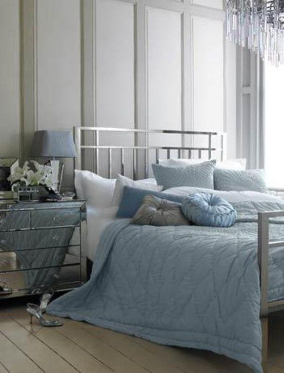 Best 20 Beautiful Blue And Gray Bedrooms Grey Bedroom Design 400 x 300