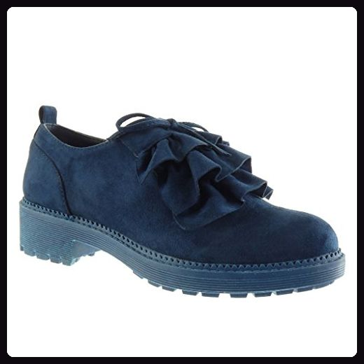 Angkorly damen Schuhe Brogue Schuh Plateauschuhe
