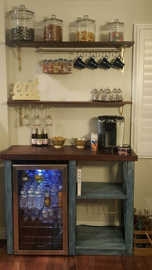 Eye Opening Coffee Bars You Ll Want For Your Own Kitchen Coffee Bar Ideas Coffee Ideas With Images Coffee Bar Home Coffee Bars In Kitchen Home Decor