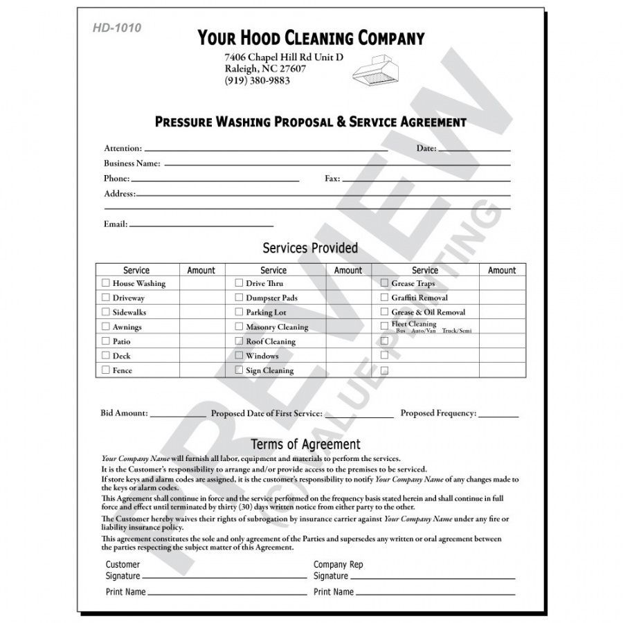Commercial Pressure Washing Proposal Template Proposal Templates Modest Proposal Book Proposal