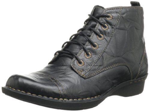 d2a006e694a Clarks Women's Whistle Ballad Boot,Black Leather,9 M US | Shoes ...