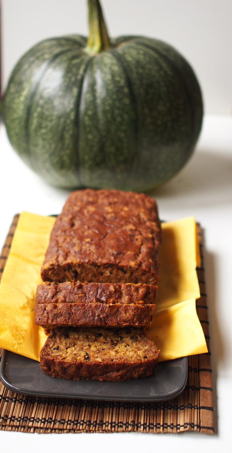 Kissoja & Kasvisruokaa: Pumpkin Challenge: Pumpkin Chai Bread