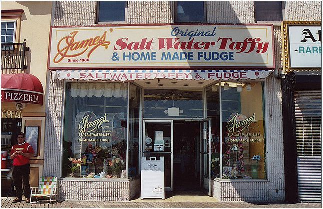 Pin By James Candy Salt Water Taff On Our Locations Atlantic City Atlantic City Boardwalk Nj Beaches