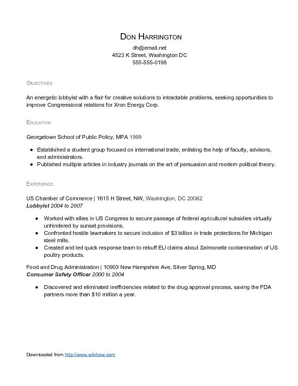 Writing A Resume Objective Sample  HttpWwwResumecareerInfo