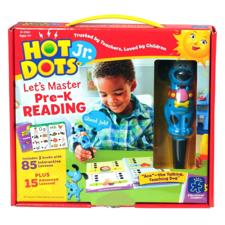 Amazon Educational Insights Hot Dots Jr Let s Master Pre K
