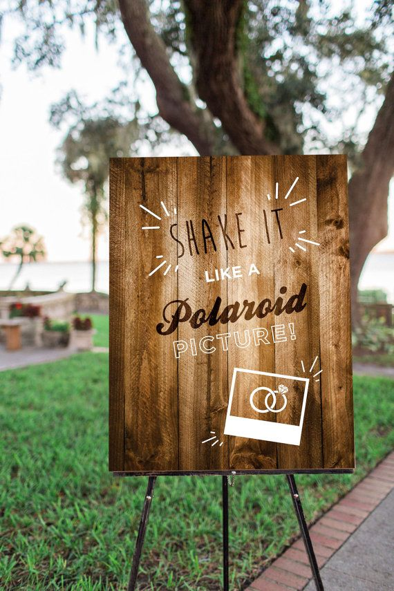Printable Wedding Sign Rustic Wood Dance Floor Decor Photo