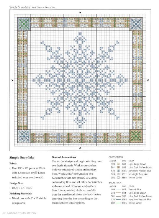 Návod -A Cross Stitch Christmas - Holiday Celebrations 2/1 | Cross ...