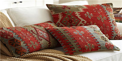 Earth Tones Throw Pillows #southwestern
