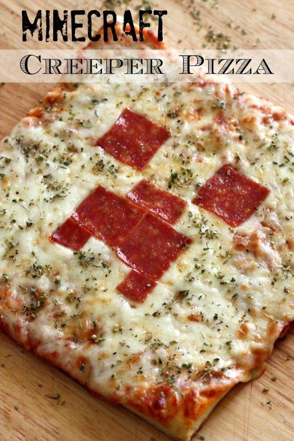 Tutorial de Pizza de Minecraft. #FiestaMinecraft | minecraft ...