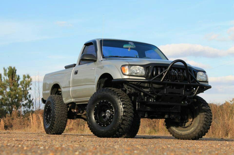 2001 Toyota Tacoma 2 5 Inch Rcx Suspension Body 33x12 50x15 Bfg Mt Km2 15x10 Pro Comp Wheels Addicted Offroad Stinger Winch Per 9500