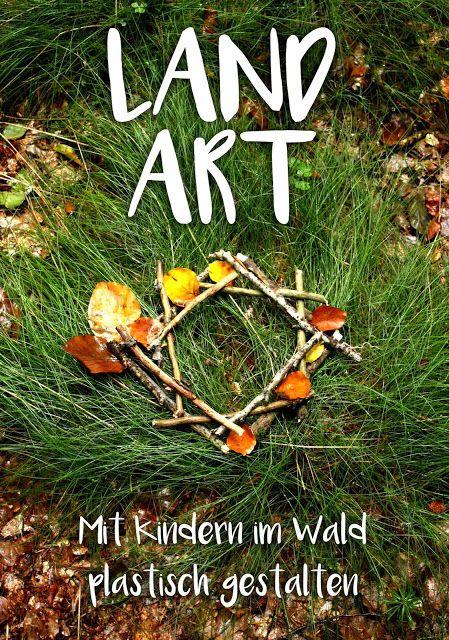 LAND ART - Ein Kunstprojekt im Wald #landart