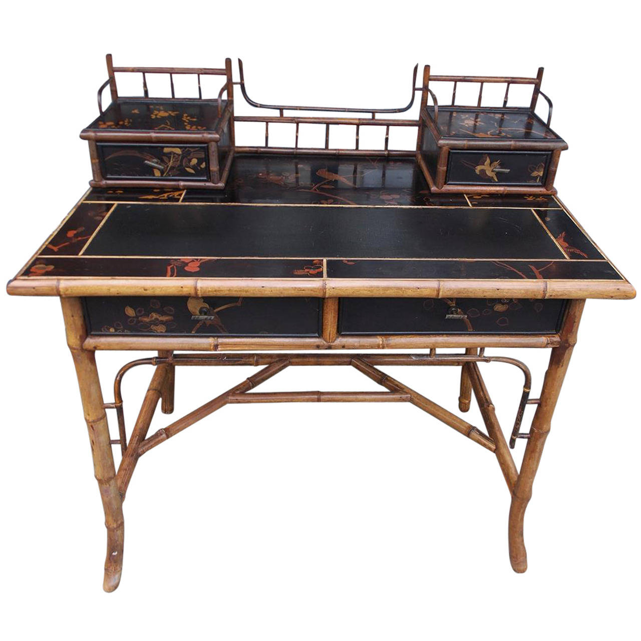 Sensational 1Stdibs Desk Writing Table English Faux Lacquered Download Free Architecture Designs Rallybritishbridgeorg