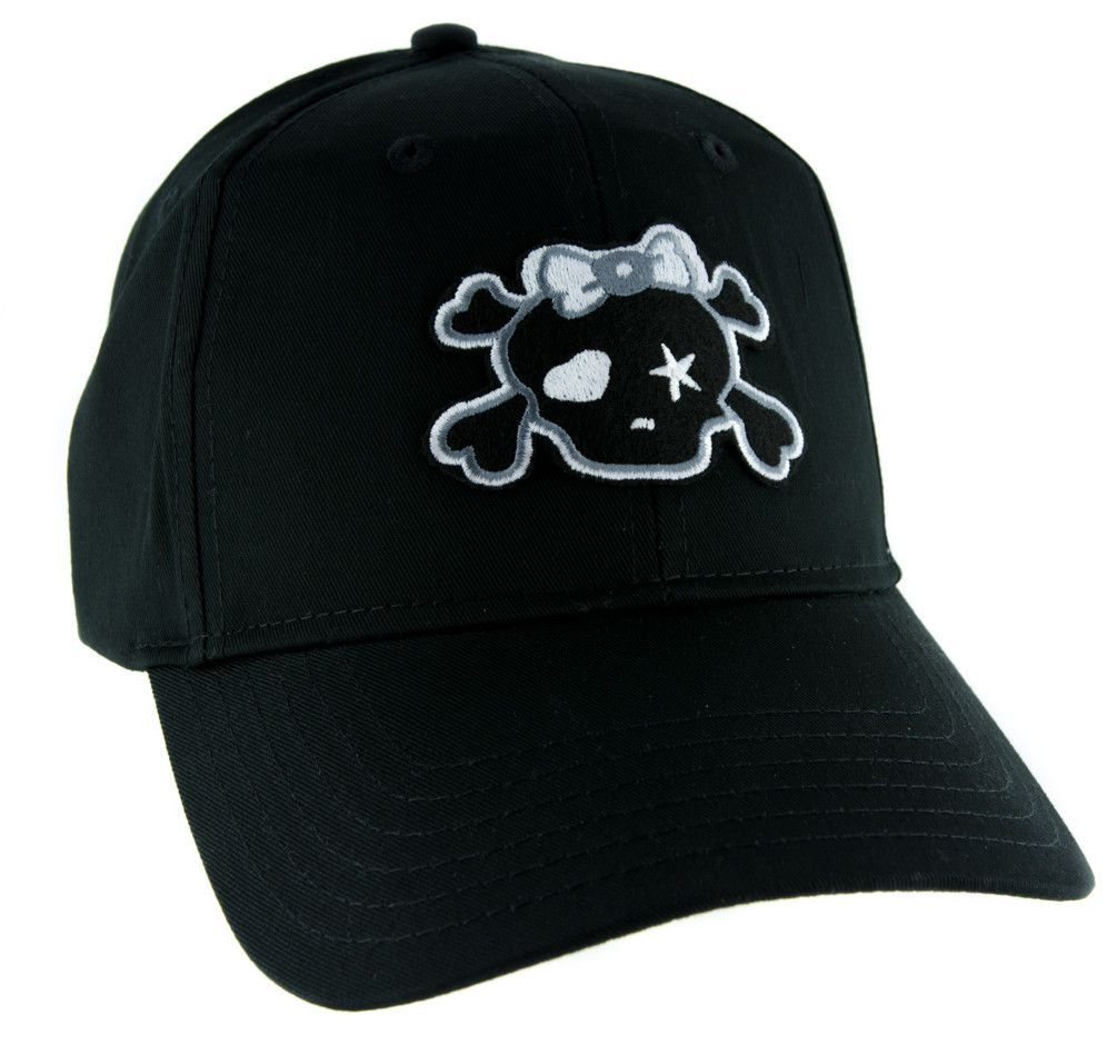 Bow Hat Baseball Cap Alternative Clothing Emo is part of Emo Clothes Hats -  Baseball Cap  Great for any style including Gothic, Halloween, Deathrock, Rockabilly, Punk, Metal, Death Metal and Black Metal