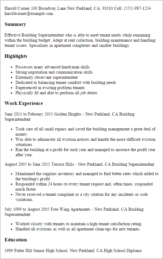 Resume Tips Examples Free Sample Cover Letter Template