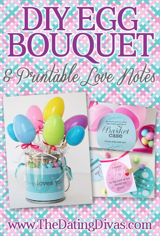 Love note easter egg bouquet easter diy decoration and egg how to make a darling easter egg bouquet for your sweetheart that is filled with secret love notes for his eyes only a perfect easter gift for him negle Image collections