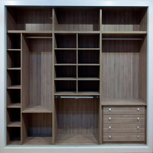 Dise amos fabricamos y montamos su armario interior y - Cajoneras para armario ...