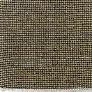 Black & Tan Homespun Basic Mini Check Fabric | Shop Hobby Lobby