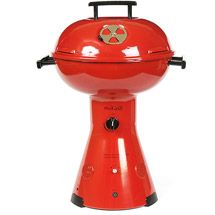 m.iGrill Tabletop Gas Grill With Speakers, Red