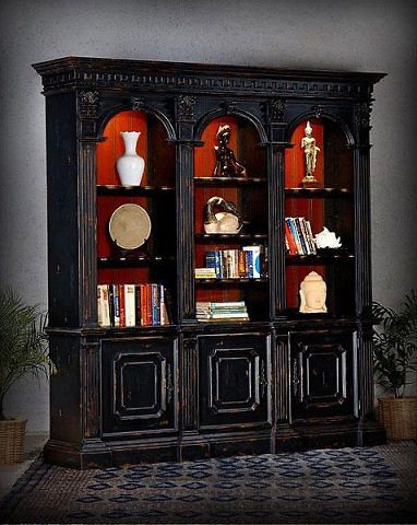 Charming Old Fashioned Bookshelves For A Cozy Home Library