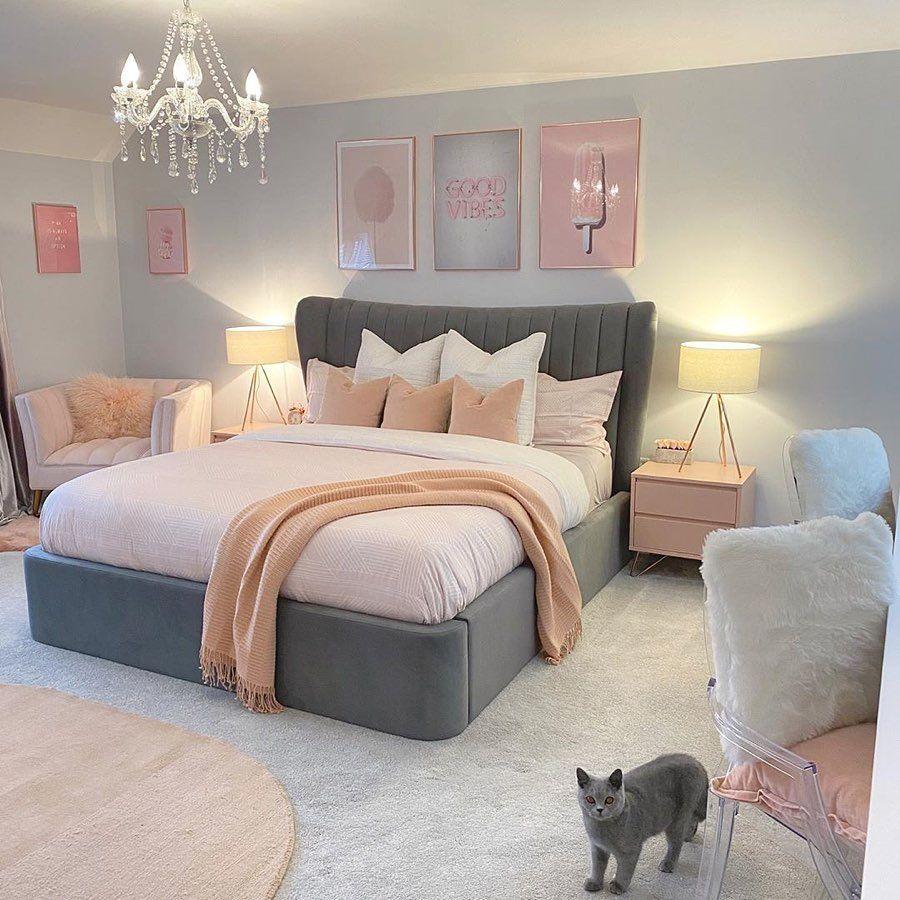 Villa Maison De Luxe En 2020 Deco Chambre A Coucher Deco Chambre Parental Chambre Deco Ado