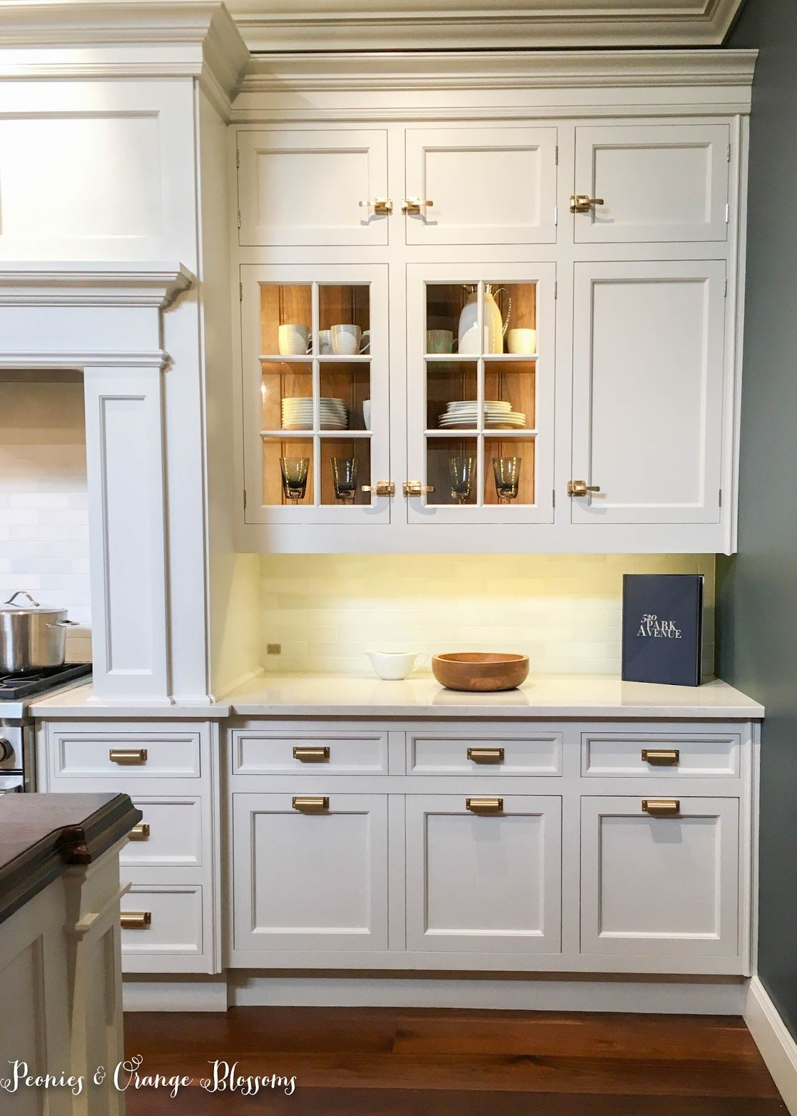 A Christopher Peacock Kitchen and Ice Box Hardware ...