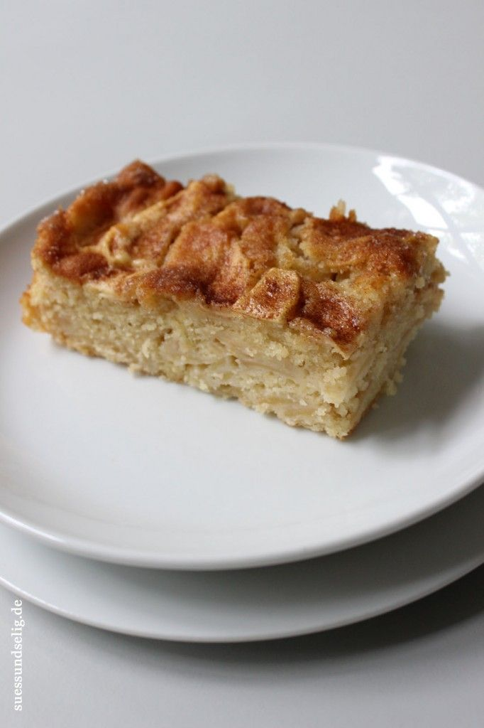 Schwedischer Apfelkuchen nach Omas Rezept - saftiger geht ...