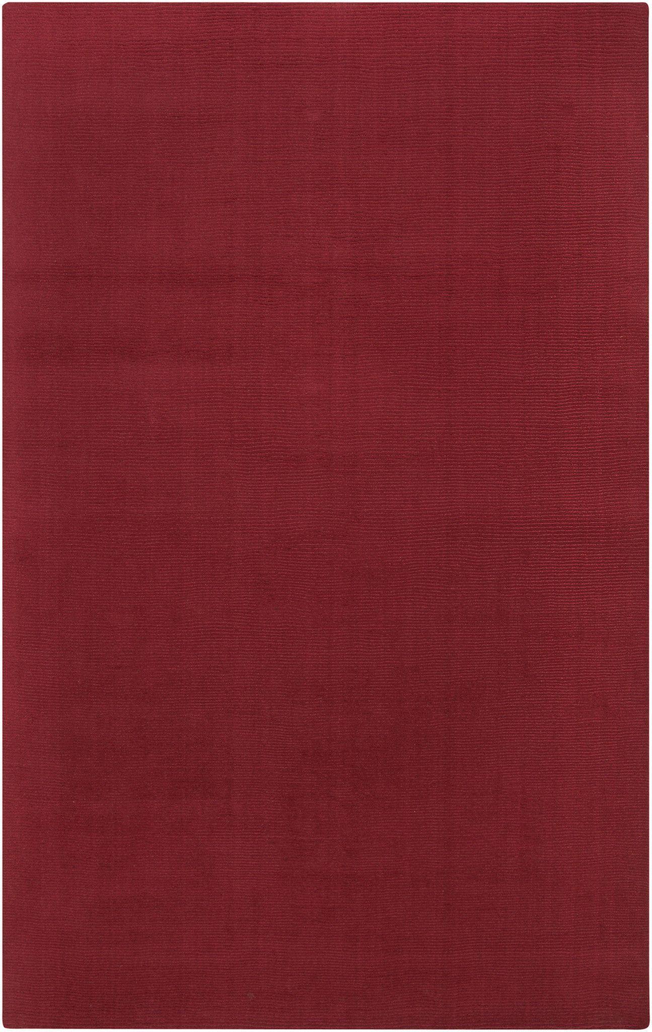 Surya M333 Mystique Red Rectangle Area Rug