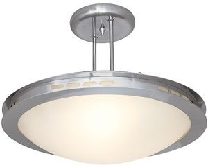 """CLEARANCE Access 50084 BS/OPL, 50085 BS/OPL Eros Semi-flush    50084 BS/OPL Eros Semi-flush   Diameter: 14"""", Height: 10.5""""  Clearance Price $60.00  Clearance Modern Ceiling Lights - Brand Lighting Discount Lighting - Call Brand Lighting Sales 800-585-1285 to ask for your best price!"""
