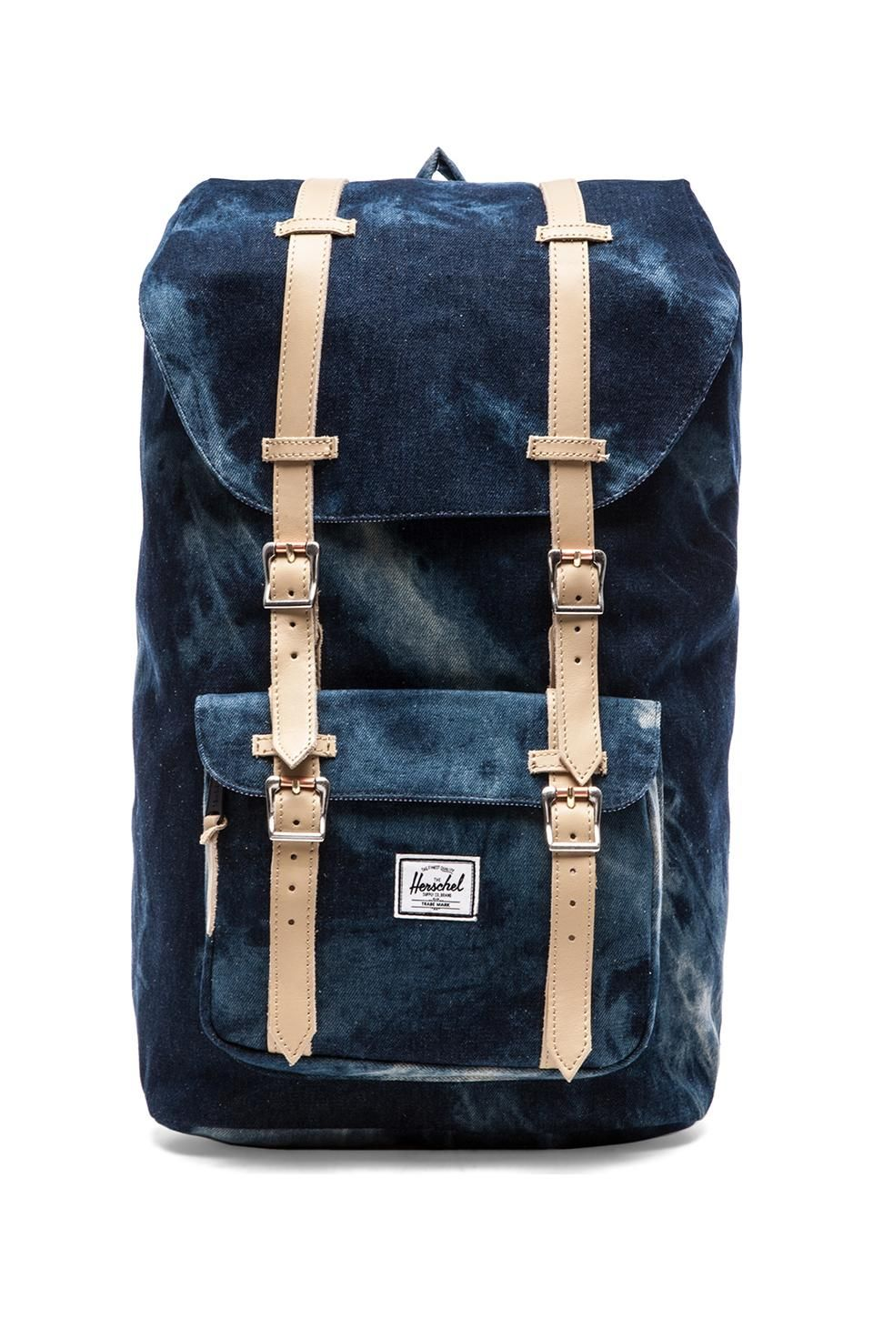 fedb63c0d6e Herschel Supply Co. Select Collection Little America in Acid Washed Denim