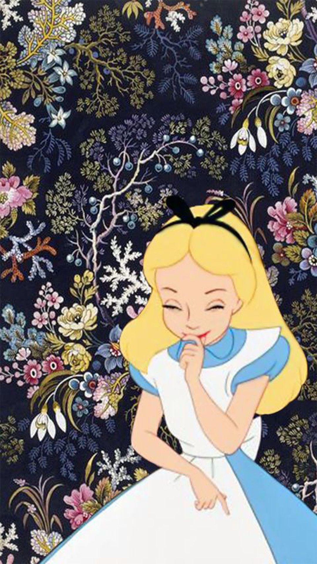 不思議の国のアリス ディズニーの携帯電話の壁紙 壁紙iphone